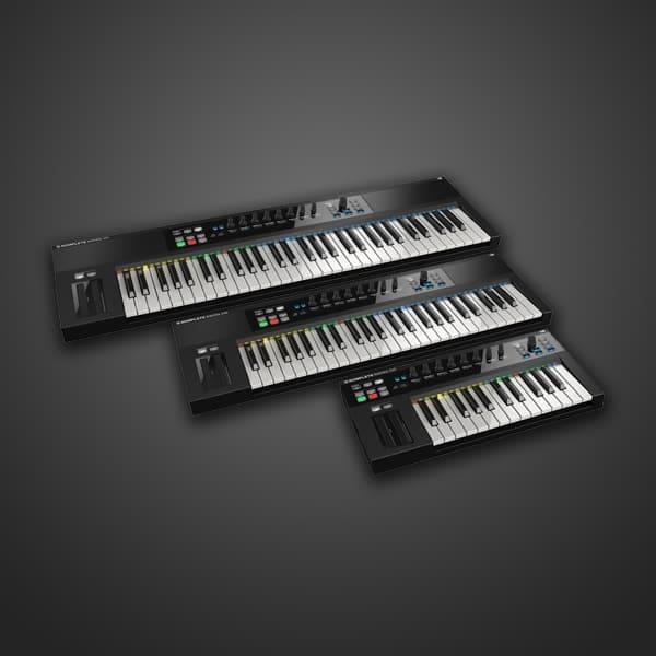 komplete kontrol s49 keyboard sol passion music. Black Bedroom Furniture Sets. Home Design Ideas